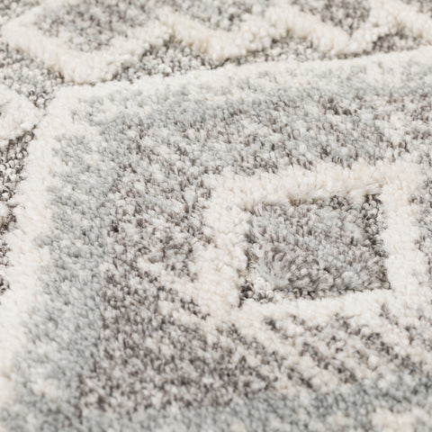 Mia Cream / Grey Area Rug