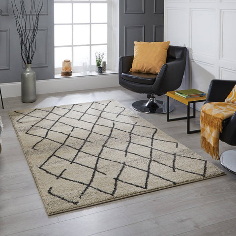 Image of Tribal Ivory Area Rug RUGSANDROOMS