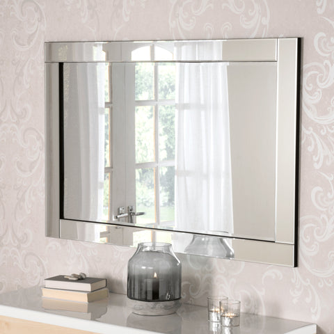 Image of Cologne Silver Accent Mirror gagandeepstore