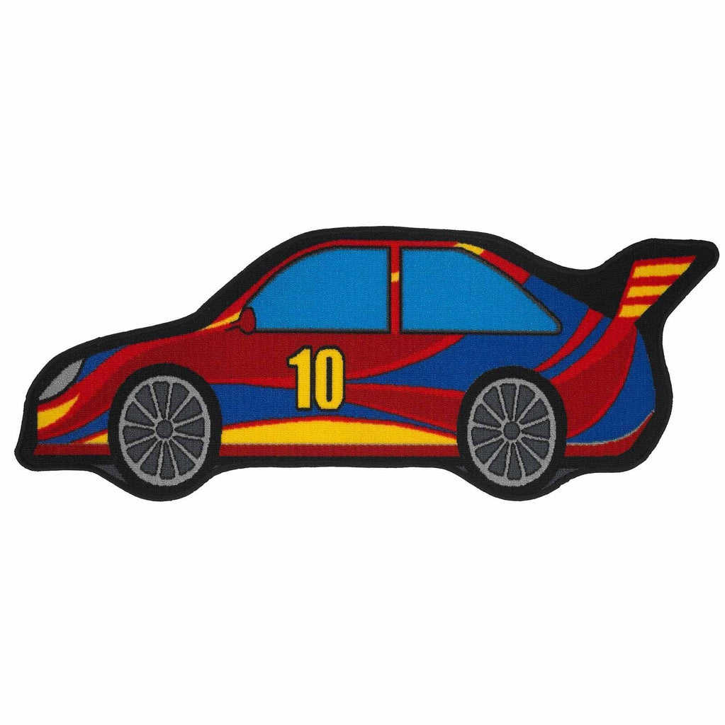 Racing Car Kids Rug RUGSANDROOMS