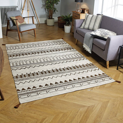 Beni Gold Area Rug RUGSANDROOMS