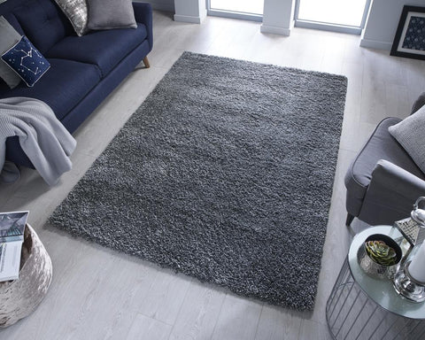 Image of Ann Anthracite Area Rug