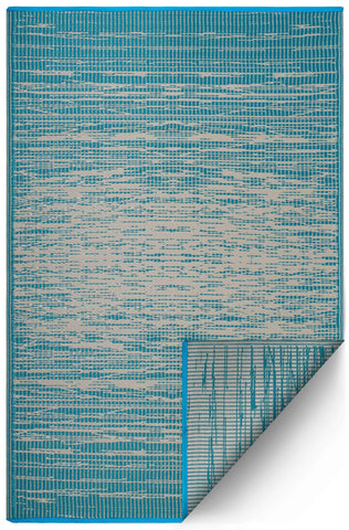 Vintage Teal Indoor Outdoor Area Rug RUGSANDROOMS