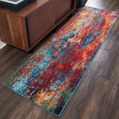 Image of Celestial Atlantic Area Rug RUGSANDROOMS