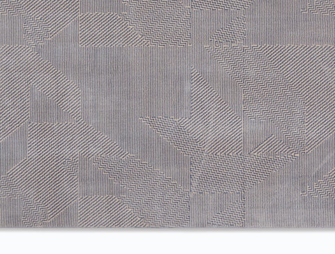 Image of Calvin Klein Orlando Grey/Blue Area Rug RUGSANDROOMS