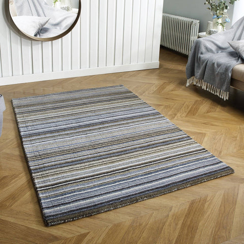 Carter Lane Grey Area Rug RUGSANDROOMS