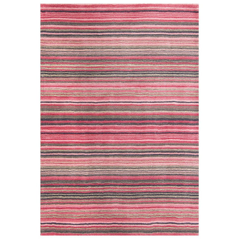 Carter Lane Pink Area Rug RUGSANDROOMS