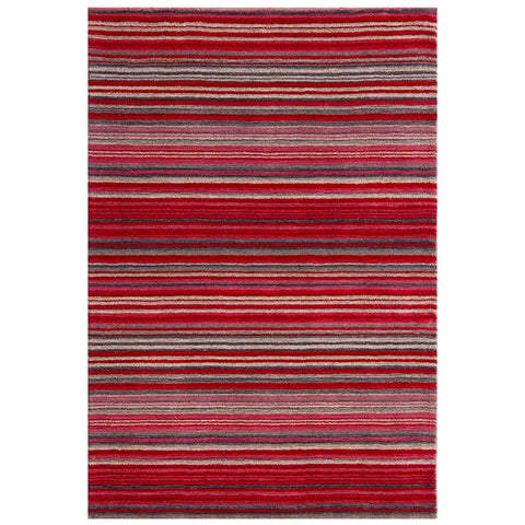 Carter Lane Red Area Rug RUGSANDROOMS