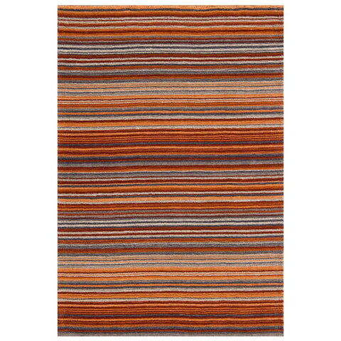 Carter Lane Rust Area Rug RUGSANDROOMS