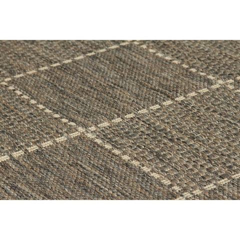 Image of Flat Weave Grey Area Rug RUGSANDROOMS