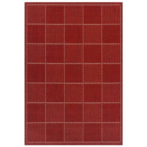 Flat Weave Red Area Rug RUGSANDROOMS
