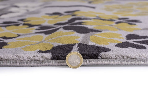 Image of Terra Grey/Ochre Area Rug RUGSANDROOMS