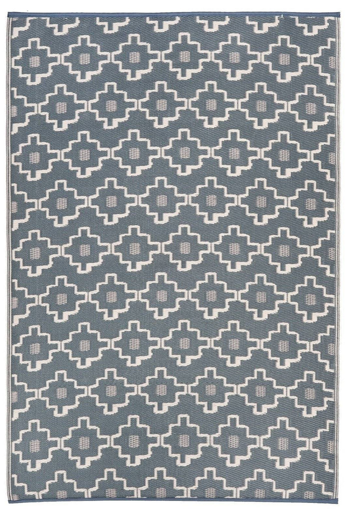 Multi Coloured/Grey Indoor - Outdoor Area Rug RUGSANDROOMS