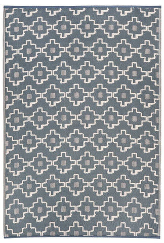 Image of Multi Coloured/Grey Indoor - Outdoor Area Rug RUGSANDROOMS