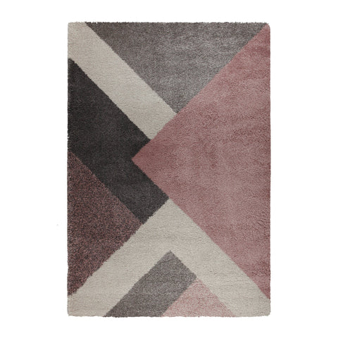 Xena Multi/Pink Area Rug RUGSANDROOMS