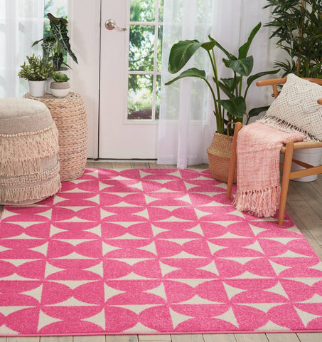 Barclay Butera Harper Pink Area Rug RUGSANDROOMS