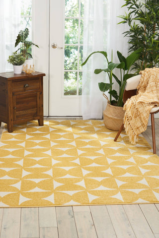 Barclay Butera Harper Yellow Area Rug RUGSANDROOMS