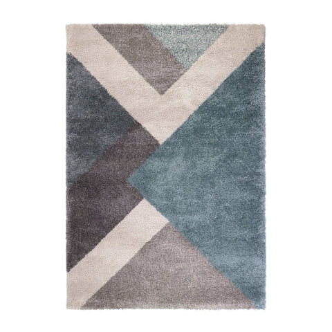 Xena Multi/Blue Area Rug RUGSANDROOMS