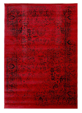 Yuri Red Area Rug Rugs & Rooms