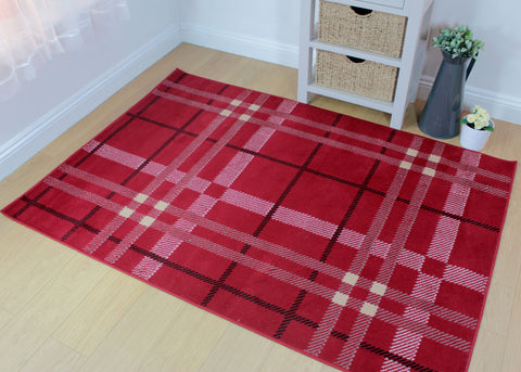 Fairuza Red Area Rug RUGSANDROOMS