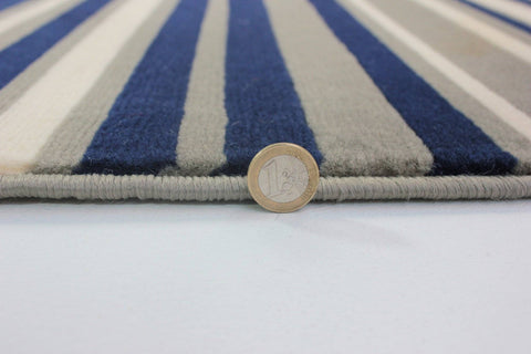 Image of Yuri Blue/Grey Area Rug RUGSANDROOMS