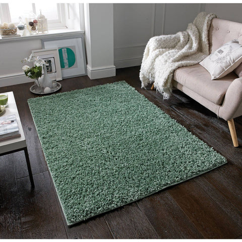 Image of Elsa Green Area Rug RUGSANDROOMS