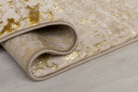Image of Amelia Gold Area Rug