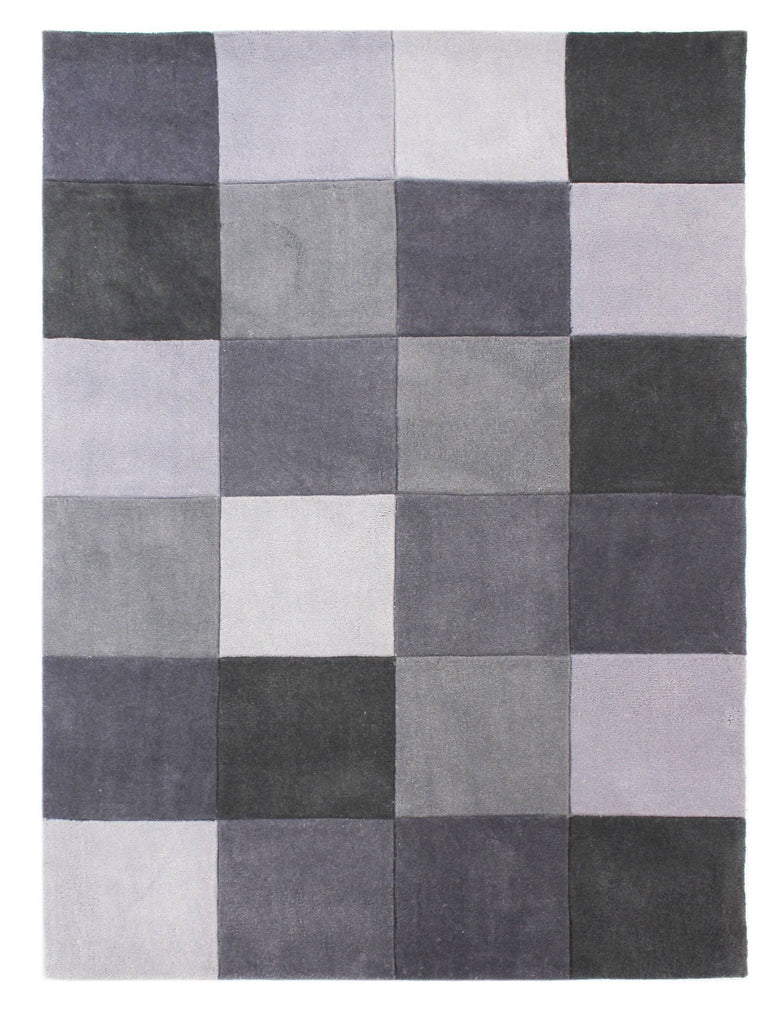 Mabel Grey Area Rug RUGSANDROOMS