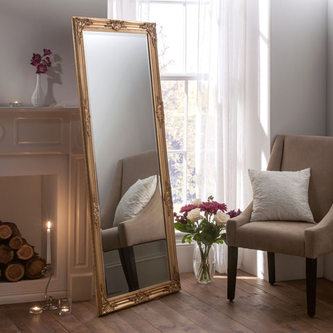 Image of Florence Gold Accent Mirror gagandeepstore