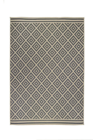 Zoe Beige Indoor/Outdoor Area Rug RUGSANDROOMS