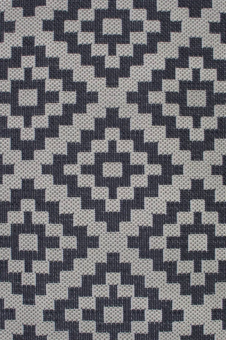 Zoe Black/Beige Indoor/Outdoor Area Rug RUGSANDROOMS