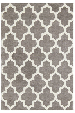 Moroccan Grey Area Rug