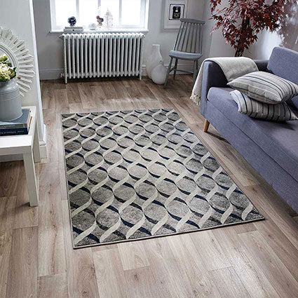 Allie Blue Area Rug