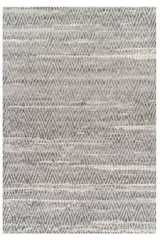 Zigzag Grey Area Rug