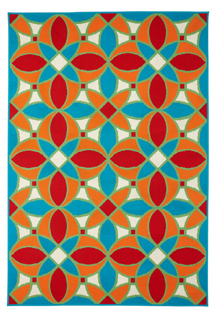 Tiles Indoor/ Outdoor Area Rug