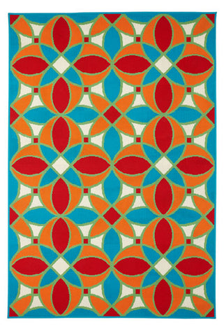 Image of Tiles Indoor/ Outdoor Area Rug