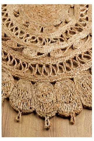 Image of Zarla Jute Natural Rug