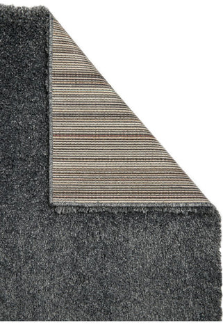 Thick Shaggy Charcoal Area Rug
