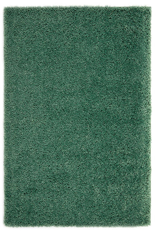 Thick Shaggy Green Area Rug