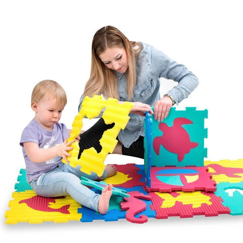 Image of Hakuna Mat Ocean World Puzzle Mat Rugs & Rooms