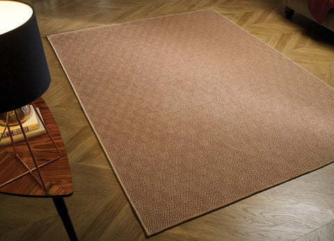 Natural Fibre Terracotta Area Rug RUGSANDROOMS