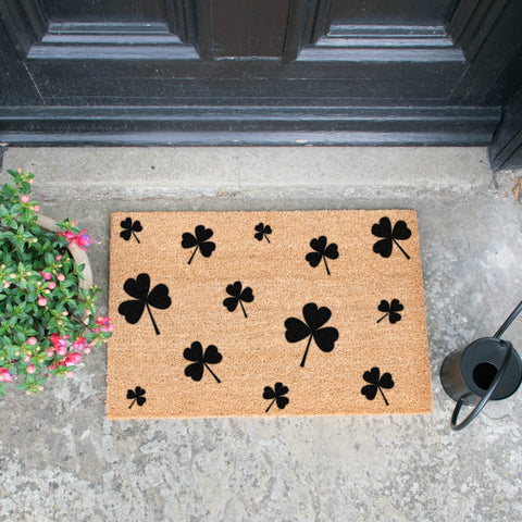 Shamrocks Doormat