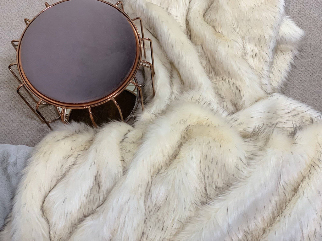 Afghan Hound Faux Fur Throw RUGSANDROOMS