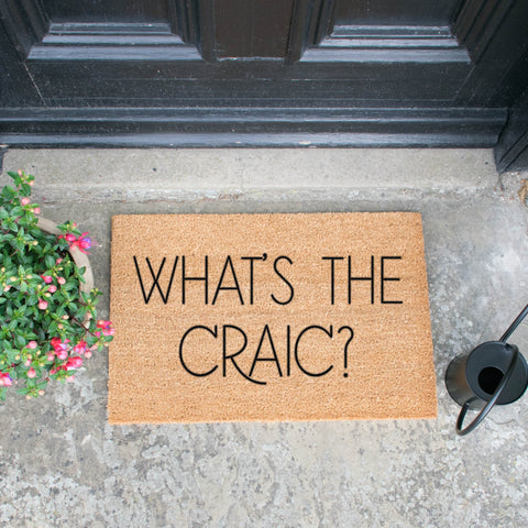 What's The Craic Doormat