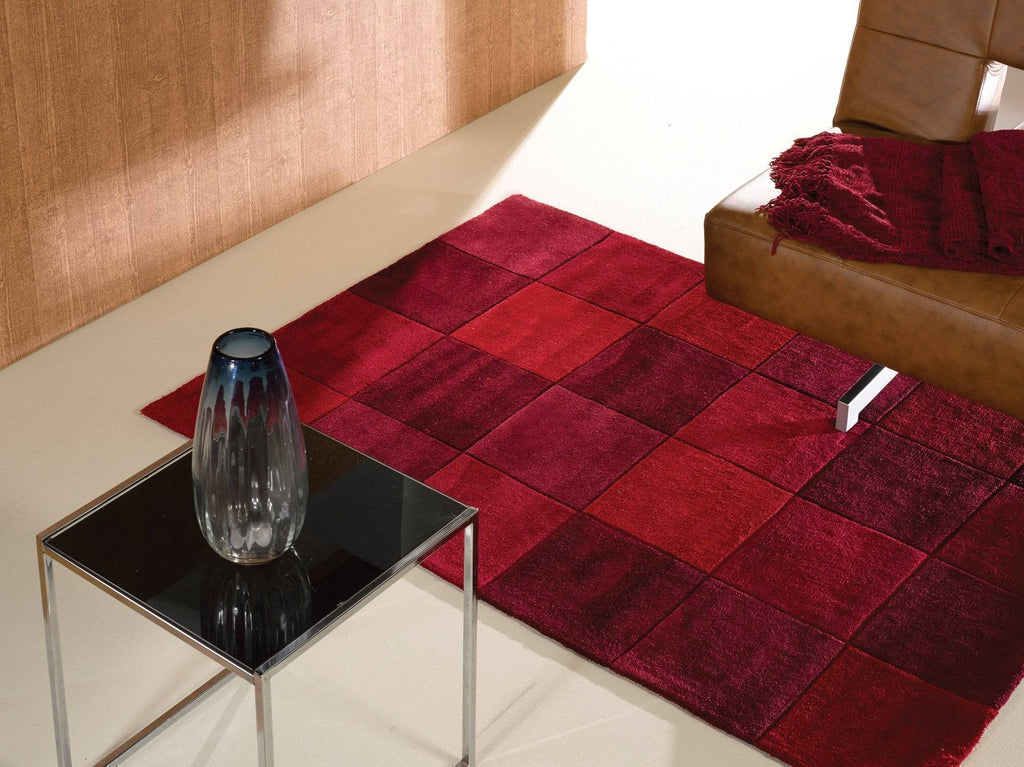 Mabel Red Area Rug RUGSANDROOMS