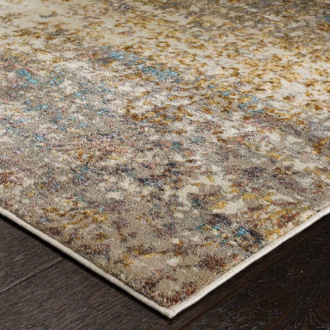 Image of Geneva Cream/Multi Area Rug RUGSANDROOMS