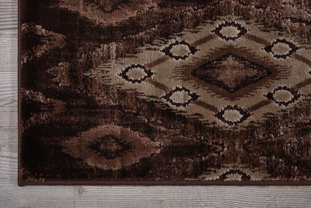 Varco Chocolate Area Rug RUGSANDROOMS