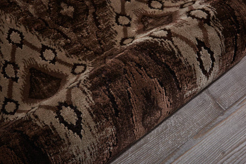 Image of Varco Chocolate Area Rug RUGSANDROOMS