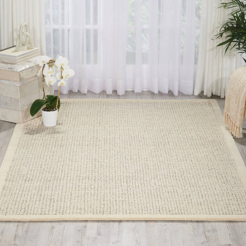 Kathy Ireland River Brook Ivory/Grey Area Rug RUGSANDROOMS