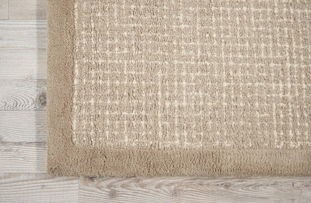 Kathy Ireland River Brook Taupe/Ivory Area Rug RUGSANDROOMS